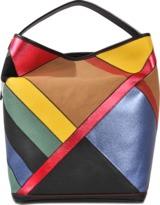 Burberry Medium Ashby B Patchwork bag