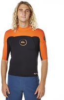 Quiksilver 1mm Syncro Ss Neoshirt Blue