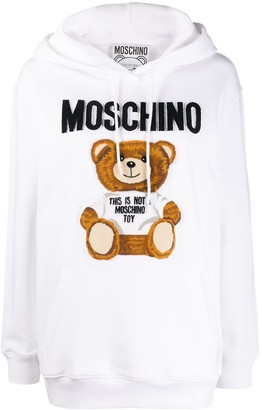 Moschino Teddy Bear Print Hoodie