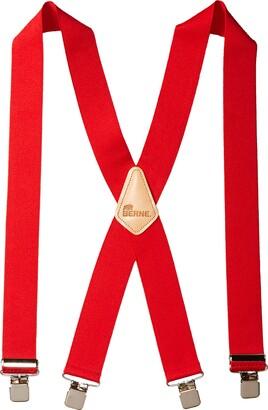 Berne Workwear Men's Embossed Back Elastic Suspenders