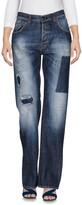 Aglini Denim pants - Item 42606620
