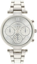 Style&Co. Style & Co Women's Silver-Tone Bracelet Watch 39mm SY024S