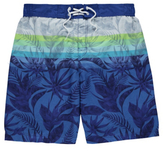 George Tropical Print Swim Shorts