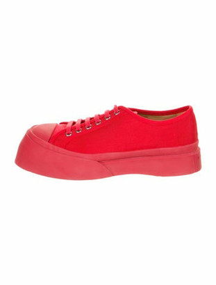 Marni Chunky Sneakers w/ Tags Red