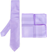 Brioni embroidered tie set - men - Silk - One Size