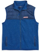 Vineyard Vines Boy's Jacquard Fleece Vest
