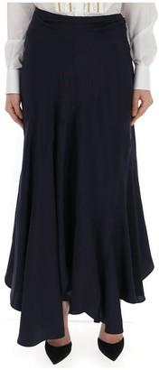 Chloé Asymmetric Flounce Skirt