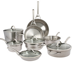 Calphalon Contemporary Stainless Steel 13-Piece Set