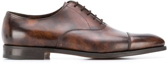 John Lobb Burnished Oxford Shoes