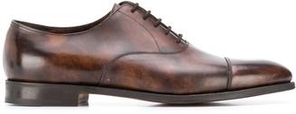 John Lobb burnished oxford shoes