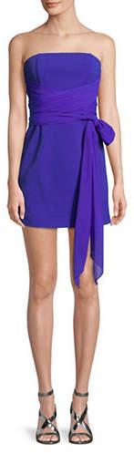 Diane von Furstenberg Strapless Sash Dress
