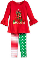 Bonnie Jean 2-Pc. Holiday Tunic & Leggings Set, Toddler & Little Girls (2T-6X)