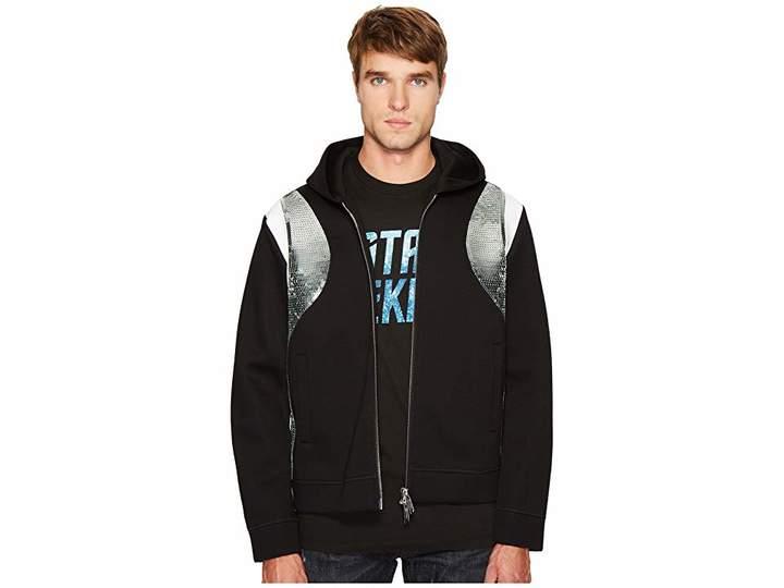 DSQUARED2 Evening Trekking Zip-Up Hoodie Men's Sweatshirt