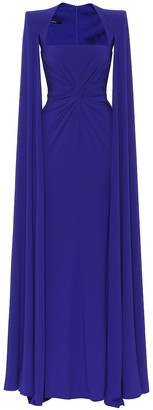 Alex Perry Kennedy crepe gown