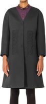 Max Studio by Leon Max Embroidered Cocktail Coat