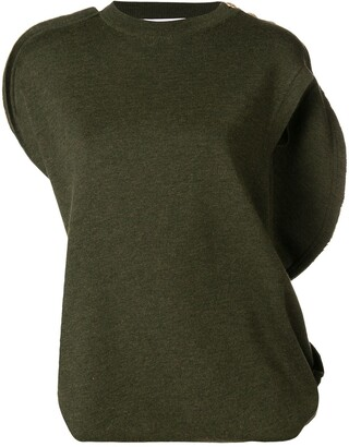 J.W.Anderson Asymmetric Knitted Top