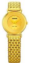 Jowissa Women's J3.024.S Elegance Gold PVD Gold Tone Dial Watch