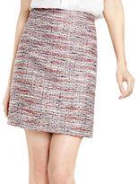 Vince Camuto Petite Back Zip Tweed Skirt