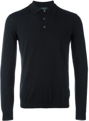 Zanone longsleeved polo shirt