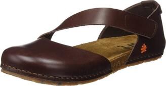 Art Women's CRETA Closed Toe Sandals Brown (Brown Brown) 8 UK