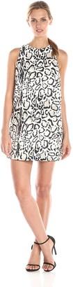 Style Stalker StyleStalker Women's Ocelot Print Shift Dress X-Small