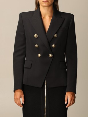 Balmain Structured Double-breasted Jacket