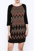 Aryeh 3/4 Sleeve Sweater Dress