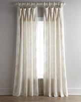 "Horchow Each 55""W x 108""L Bora Curtain"