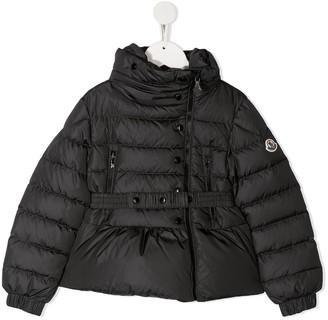 Moncler Enfant Belted Padded Jacket