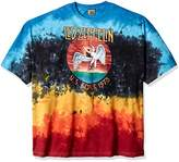 Liquid Blue Men's LED Zeppelin Icarus 1975 Tie Dye Short Sleeve T-Shirt