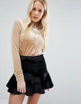 Fashion Union Velvet Shirt