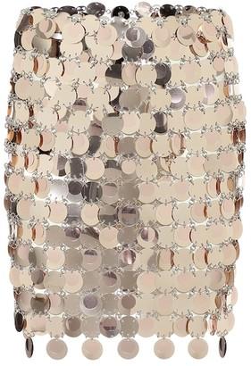 Paco Rabanne Sequined miniskirt