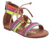 Nina Girl's Elm Embellished Gladiator Sandal
