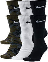 Nike Men's Dry Cushioned Crew Socks 6-Pack