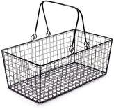 """Sur La Table Rectangle Wire Basket, 13.5"""" x 7"""""""