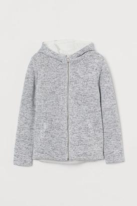 H&M Lined zip-through hoodie