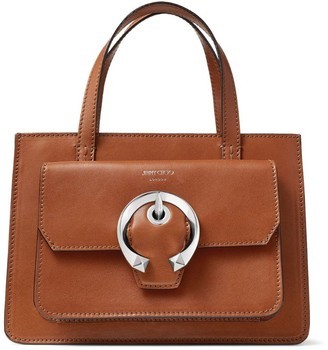 Jimmy Choo Medium Leather Madeline Tote Bag