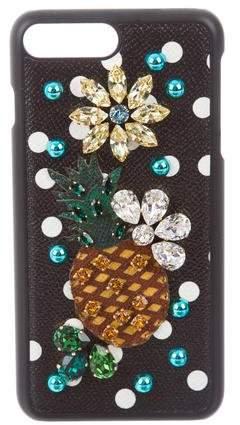 Dolce & Gabbana Embellished iPhone 7 Plus Case