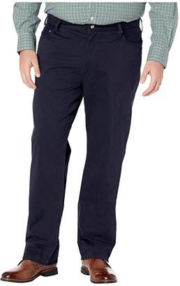 Polo Ralph Lauren Big & Tall Big Tall Five-Pocket Sateen Pants (Collection Navy) Men's Casual Pants