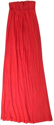 Chinti and Parker Red Cotton Dress for Women