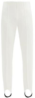 Bogner Elaine Stretch-jersey Slim-leg Stirrup Trousers - White