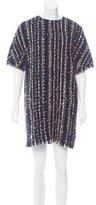 MSGM Embellished Tweed Dress w/ Tags