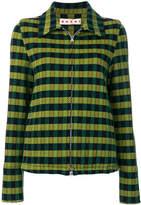 Marni zipped patterned jacket