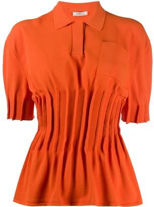 Nina Ricci Pinched Knitted Shirt
