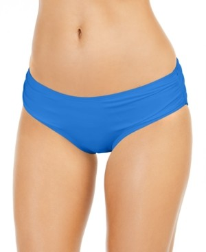 Michael Kors Michael Shirred Bikini Bottoms Women's Swimsuit