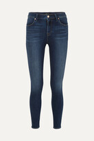 Thumbnail for your product : J Brand Maria High-rise Skinny Jeans - Blue
