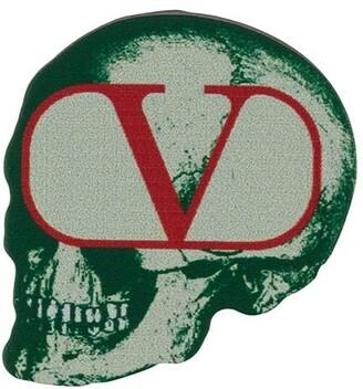 Valentino x Undercover skull brooch