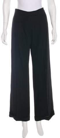 Ann Demeulemeester High-Rise Wide-Leg Pants