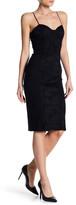 Socialite Lace Accent Corset Dress