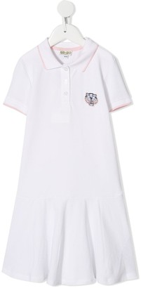 Kenzo Tiger Embroidery Polo Dress